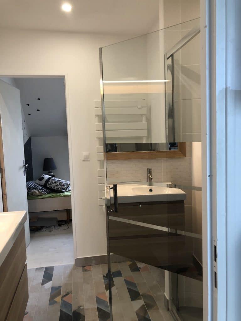Salle de bain partagée - Un autre interieur